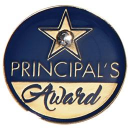 Bling Star Principal's Award Lapel Pins