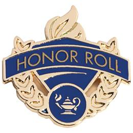 Honor Roll Lapel Pins