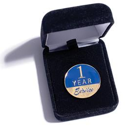 1 Year Service Lapel Pin Set