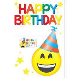 Happy Birthday Pin Cards with Pins, 24/pkg