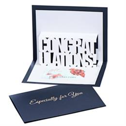 Congratulations Pop-Up Gift Card Holders