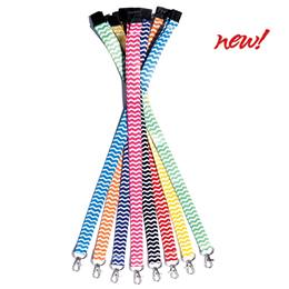 Bright and Bold Neck Straps - Chevron
