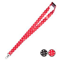 Bright and Bold Neck Straps - Dots
