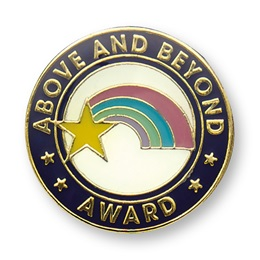Above and Beyond I Pin