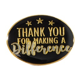 Thank You Difference Pin