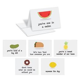 Funny Food Notecard Assortment