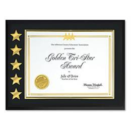 5 Star Certificate Plaque