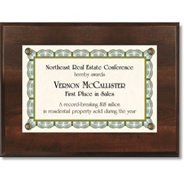 MiniAward Plaque Kits