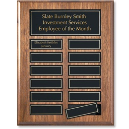 Employee of the Month Perpetual Award Plaque