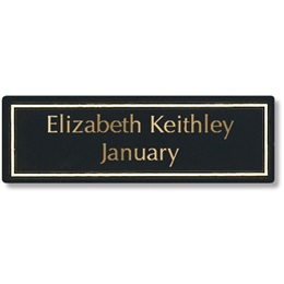 Replacement Plate for Perpetual Plaques