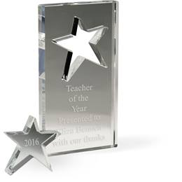 Removable Star Award