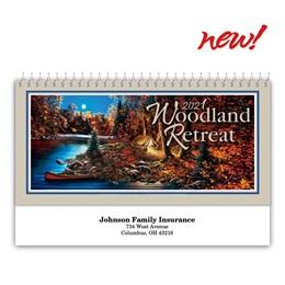 Woodlands Retreats Desk Calendar