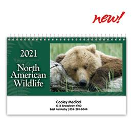 Wildlife Desk Calendar