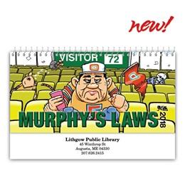 Murphy's Law Desk Calendar
