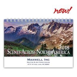 Scenic Deluxe Desk Calendar