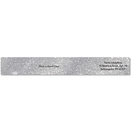 Silver Glitter Envelope Wraps