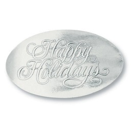Happy Holidays Foil Seals