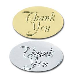 Thank You Embossed Seals