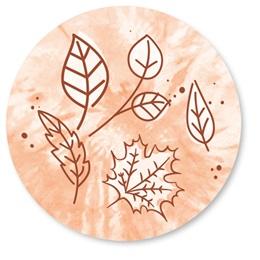 Falling Leaves Tie-Dye Seals