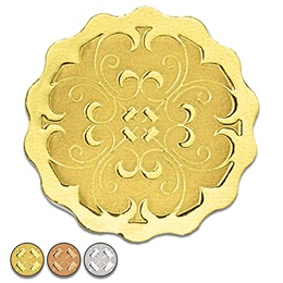Scalloped Deluxe Embossed Seals