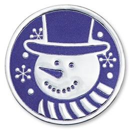 Snowman Foil Seals