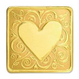Whimsy Heart Deluxe Embossed Seals