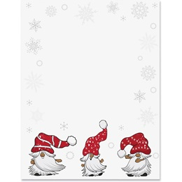 Merry Little Gnomes Border Paper