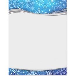 Winter Greetings Border Papers
