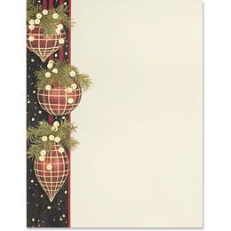 Twinkling Tartan Specialty Border Papers