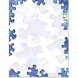 Puzzled Border Papers