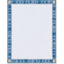 Denim Border Papers
