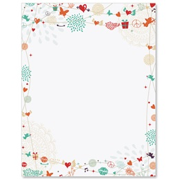 Love Medley Border Papers
