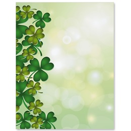 Clover Dance Border Papers