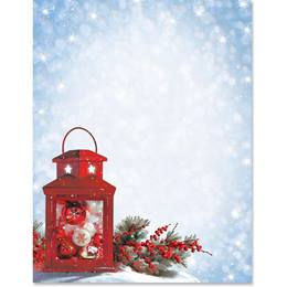 Red Lantern Border Papers