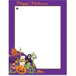 Halloween Hijinks Border Paper
