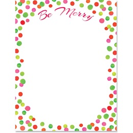 Be Merry Border Papers