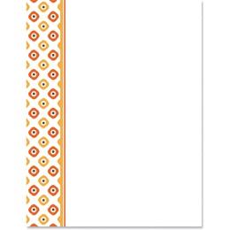 Diamond Dots Border Papers