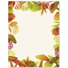 Fall Medley Border Papers