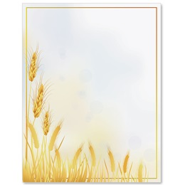 Wheat Harvest Border Papers