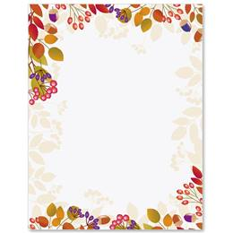 Autumn Jasper Border Papers