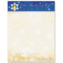 Festival of Lights Border Papers