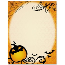 Halloween Fun Border Papers