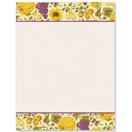 Classic Autumn Border Papers