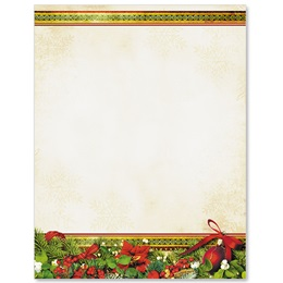 Festive Flair Border Papers