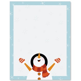 Flaky Friends Border Papers