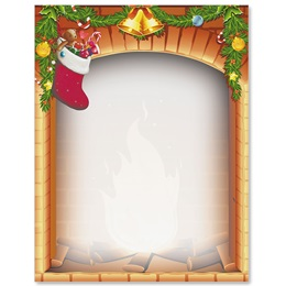 Filled Stocking Border Papers