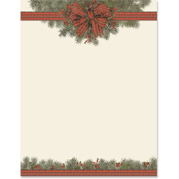 Festive Boughs Border Papers