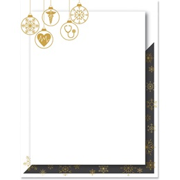 Healthcare Ornaments Border Paper