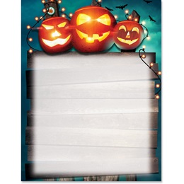 Halloween Header Border Paper