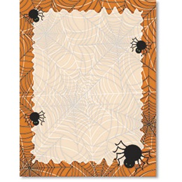 Spiderwebs Border Papers